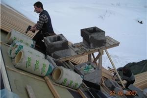 kompakte tak på i bjelker